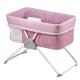 Travel crib pink